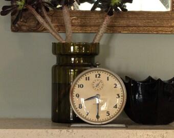 Vintage Westclox Bingo metal alarm clock