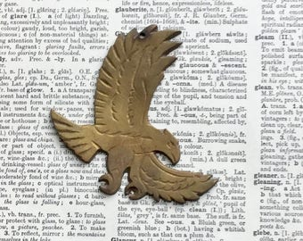 Brass Eagle Ornament