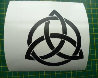 Trinity Knot Sticker Triskele Sticker Triscele Sticker Pagan Wiccan magic