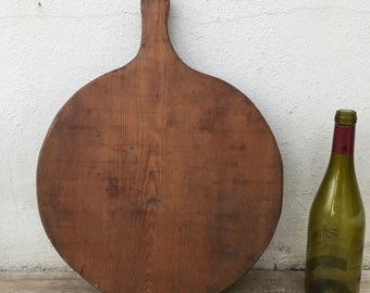 ANTIQUE VINTAGE FRENCH bread or chopping cutting board wood ! 23041814