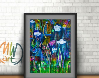 Grows in Adverse Conditions - Art Print