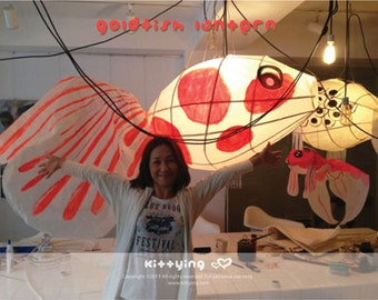Goldfish Lantern Making Instruction (pdf)