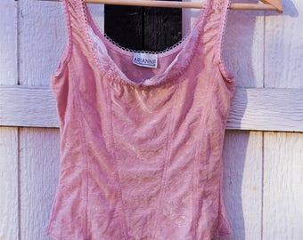90s Pink Tank Top