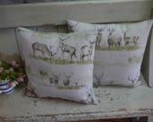 Luxury Cushion - Stag pil...