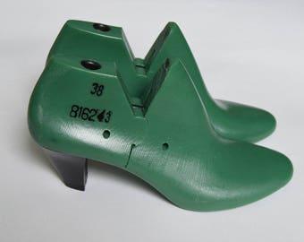 WOMEN'S plastic shoe lasts heel 6 cm