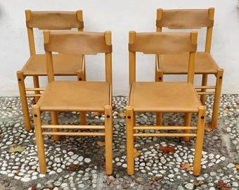 "Set of 4 chairs ""Ibisco Sedie"" Italian design"