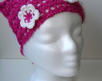 Pink Headscarf for toddler - ready to ship
