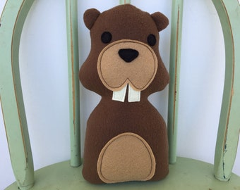 Woodland Beaver Softie Toy, Perfect for Nursery!
