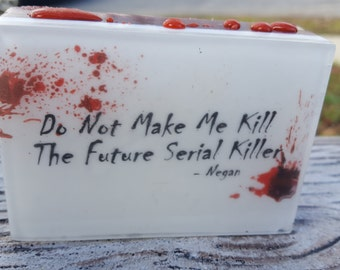 Walking Dead Soap - Negan Quote Soap - AN AJSweetSoap Exclusive