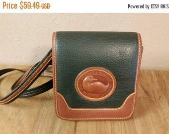 On Sale Dooney and Burke Flap Purse or Handbag  Vintage Accessory Shoulder Bag