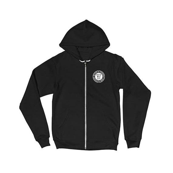 Better & Stronger Zip Up Hoodie | Northwest Lift Apparel