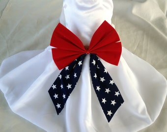 Dogs, Cats, Pets JULY 4th Dress- Independence Day