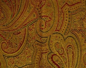 Kravet Ibiza Medallion Paisley Chenille Designer Fabric Sample Tapestry