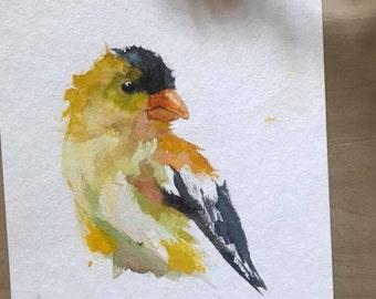 Goldfinch - Original Art