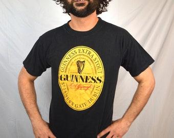 Vintage 80s Guinness Beer Tee Shirt Tshirt