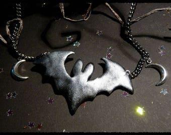 Bat-Moon - necklace