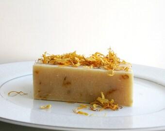 Splash in the Sun Soap Bar - Natural Handmade Soap - Calendula Soap