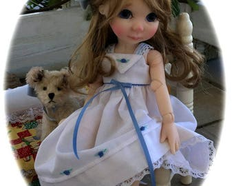 "Sweet Dreams for Adaline! 10"" BJD Nightgown and Slippers"