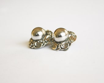 Whiting and Davis Clip Earrings