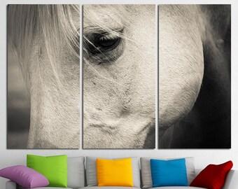 Large Horse Canvas Print Multi Panel Horse Wall Art Horse Canvas Art Horse Home Decor Horse Poster Horse Print Horse Photo Wall Art