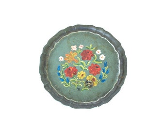 German Hand-painted Tray