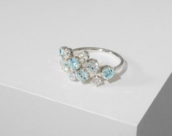 Bubbles | Silver | Ring