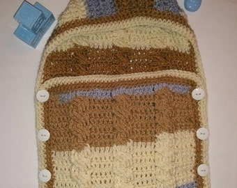 Newborn Baby Cable Bunting Cocoon