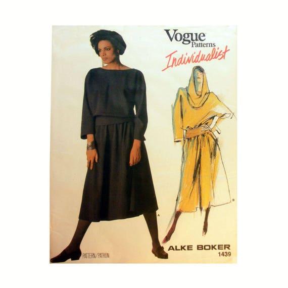 Mode Individualist Entwerfer Alke Boker Pullover Kleid mit