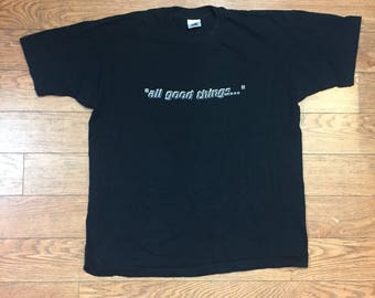 "1994 Star Trek The Next Generation ""All Good Things"" T Shirt"