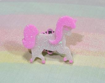 Dreamy Unicorn Ring, Fairy Kei Ring, Pop Kei Ring, Magical Girl Ring, Decora Ring, Glitter Ring, Sweet Lolita Ring, Kawaii Ring
