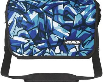 Laptop Messenger Bag - Iceberg