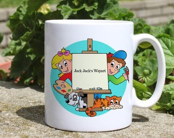 Custom mug - Colorful printed mug - Tee mug - Coffee Mug - Gift Idea