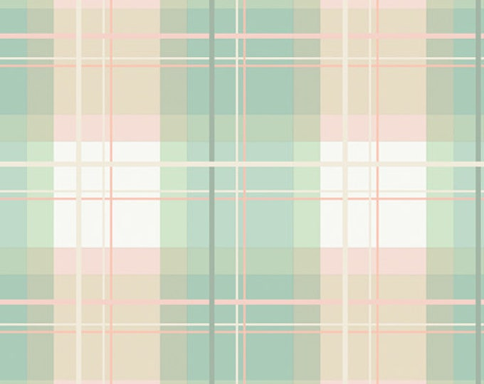 Mad Plaid by Art Gallery Fabrics - Afternoon Tea Plaid - Cotton Woven Fabric