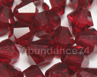Swarovski Crystal Beads BICONE 5328 SIAM - Available in 3mm, 4mm, 5mm, 6mm and 8mm