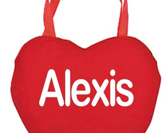 Personalized Heart bag