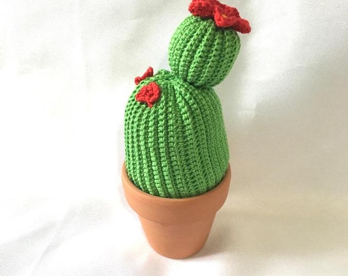 Decorative floral cactus all cotton