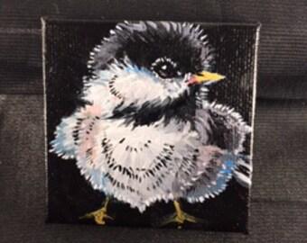 Baby Bird Painting