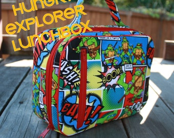 The Hungry Explorer Lunchbox PDF pattern