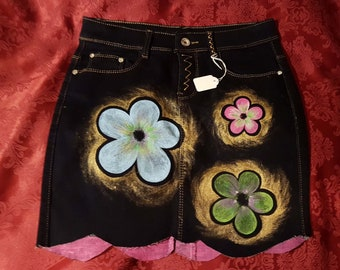 Hand Painted Skirt
