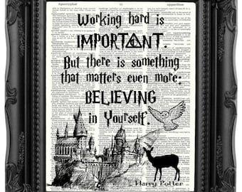 Harry Potter Gift Harry Potter Print Dumbledore Quote HARRY POTTER Quote Harry Potter Birthday Gift Son gift Daughter birthday gift  214