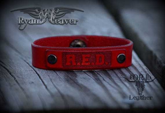 Ryan Weaver R.E.D. Leather Strap
