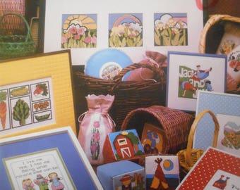 A Tisket, A Tasket, Vanessa Ann, Pattern Leaflet #20, 1983
