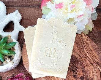 Lemongrass and turmeric soap, lemongrass soap, soap with turmeric, double butter soap, shea butter, mango butter