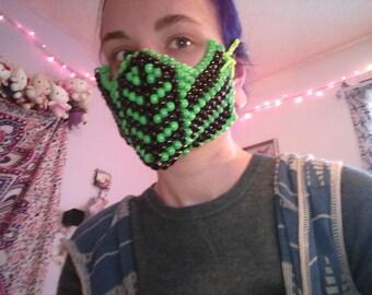 Mortal kombat reptile kandi mask