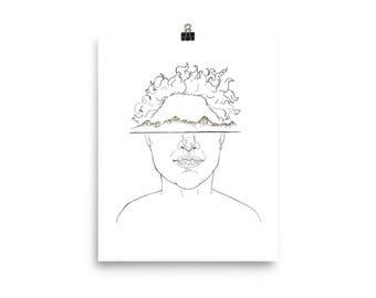 Mountain Mind Poster