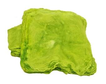 Mawatas Silk Hankies Key Lime - 16 grams
