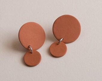 Little Circle Dangle Earrings