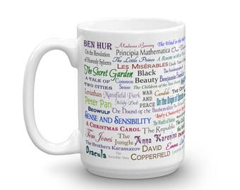 The Best Classic Books of All Time - Reading Mug for Readers