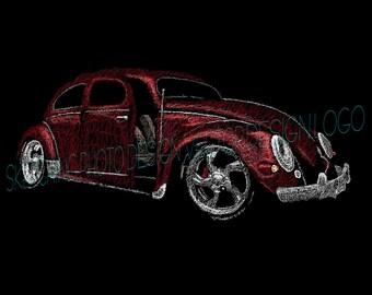 Volkswagen Beetle (Scribbles)