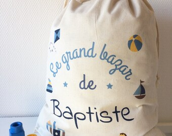 Grand Bazaar - customizable boy bag